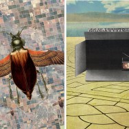 "Left: ""Flying High"" by Sammy Slabbinck -- Right: ""Pay-per-view"" by Sammy Slabbinck"