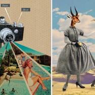 """Left: """"Advance , focus & shoot"""" by Sammy Slabbinck -- Right: """"Before I go"""" by Sammy Slabbinck"""