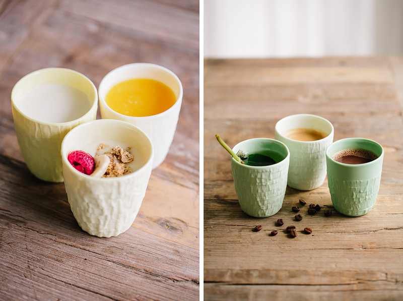 taped coffee cups by studio ps 6