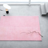 Twice rug by Jessica Signell Knutsson