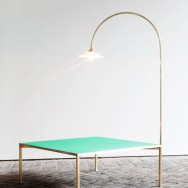 muller van severen low table + lamp