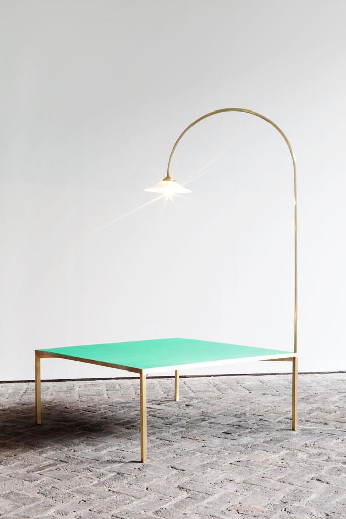 muller van severen low table + lamp