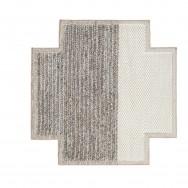 ivory-plait rug square
