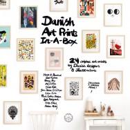 danish art prints in a box 1