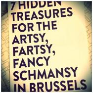 -- artsy fartsy fancy schmancy --