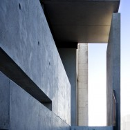 Concrete House 2 Bellarine Peninsula, exterior lines detail