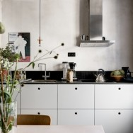 the kitchen to feel like a furnished room