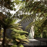 tent house, waiheke island. chris tate architecture.