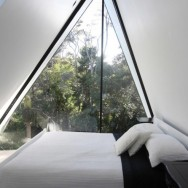 tent house waiheke island, chris tate architecture