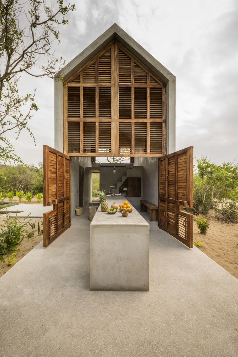 Casa Tiny Airbnb Oaxaca Mexico architect Aranzade-Ariño Camila Cossio