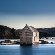 Sildegarnsholmen I Norway