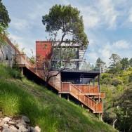HillSide House - Zack  de Vito Architecture + Construction, photos © Bruce Damonte